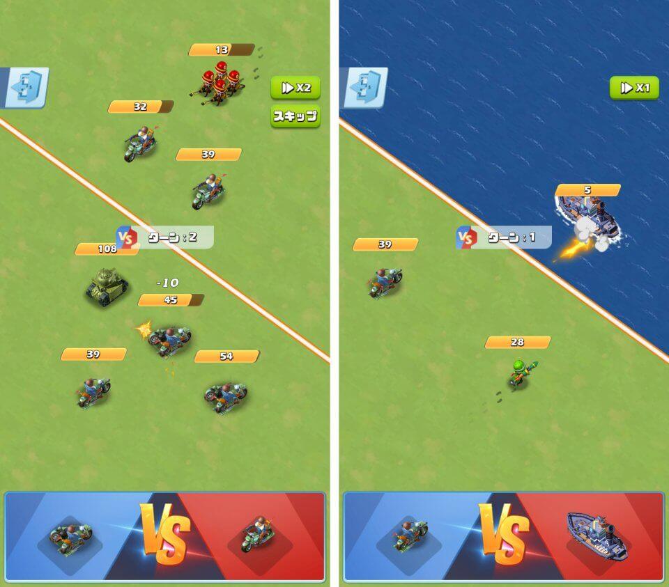 ユニットも施設も「合体強化」する戦略・育成シミュレーション!陸・海・空軍を編成して悪の軍団を倒せ「トップウォー」レビュー