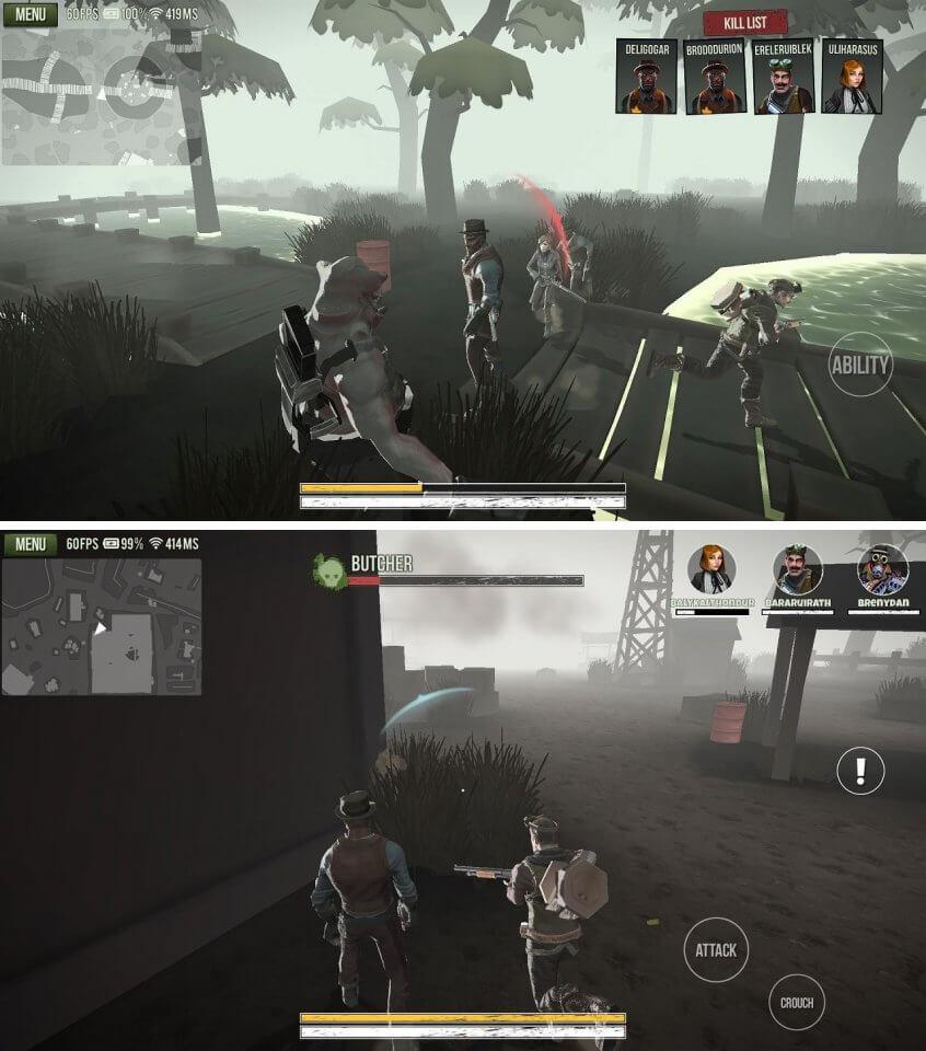 4人のハンターと1体のモンスターのガチバトル!「DbD」系の非対称オンライン対戦アクション!「Deadrite Hunt」レビュー