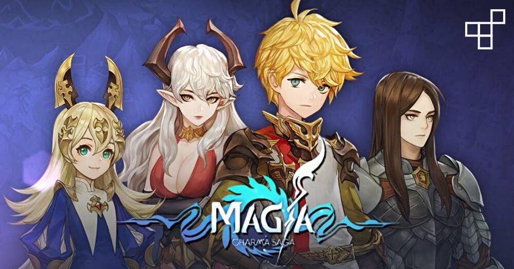 マギーア カルマサーガ(Magia Charma Saga)、Nexonとsuperacidが共同開発!韓国で大ヒット中の2D横スクロールアクションRPGが日本上陸!
