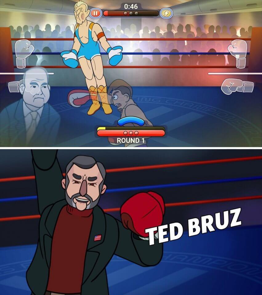 大統領はボクシングで決まる!?パロディ政治家にアッパーカットを叩き込む選挙戦ボクシングACT!「選挙戦ノックアウト」レビュー