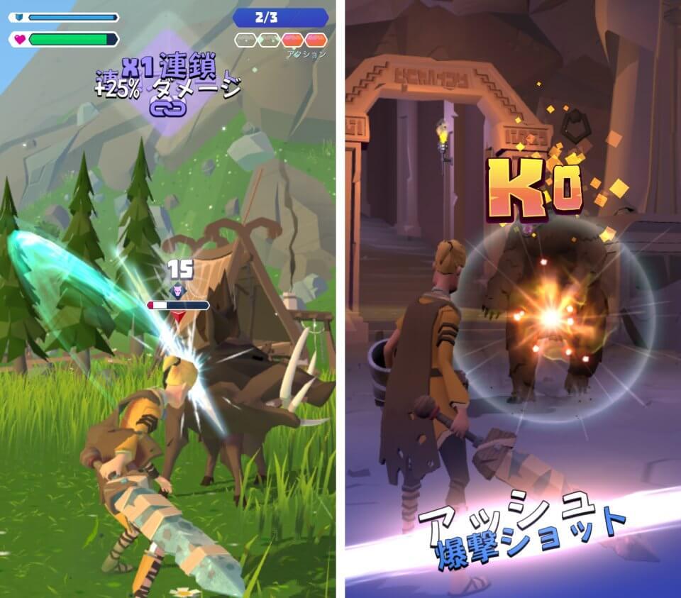 ド迫力の対面視点3DアクションRPG!怒りの騎士レイジナイトとなり、キャラを育成しながら悪を討て「ナイトフッド~怒りの騎士団~」レビュー