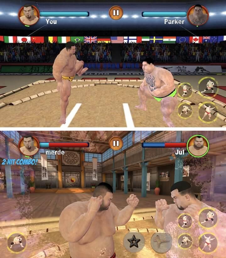 Sumo Games : Japan Wrestling