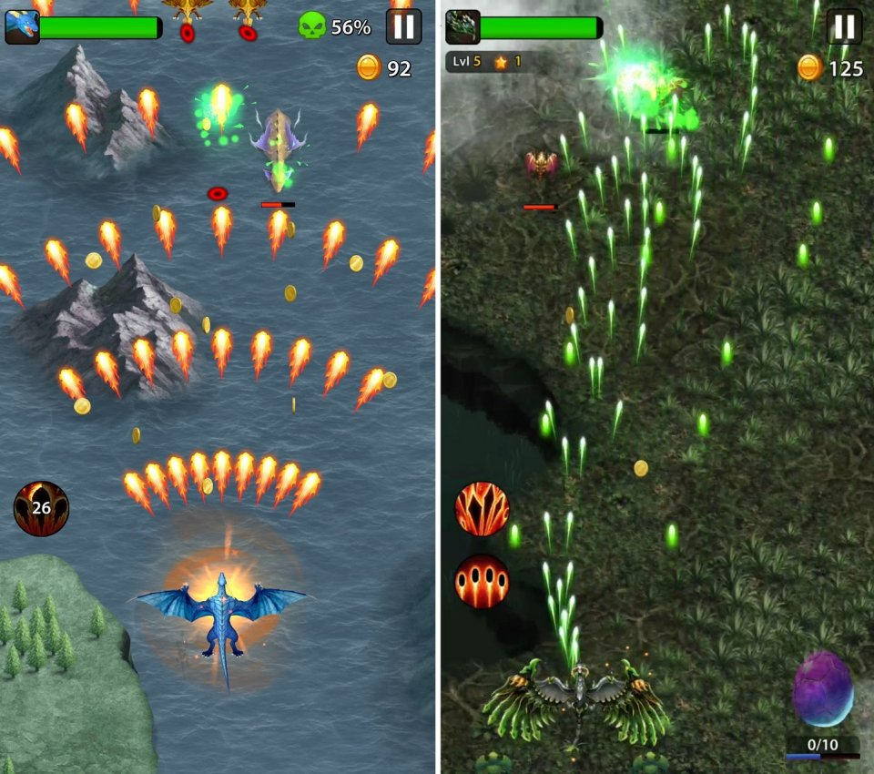 Dragon shooter - Dragon war -