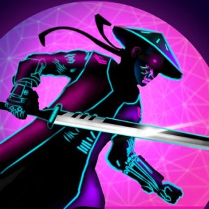 サイバー 忍者: Samurai Flash