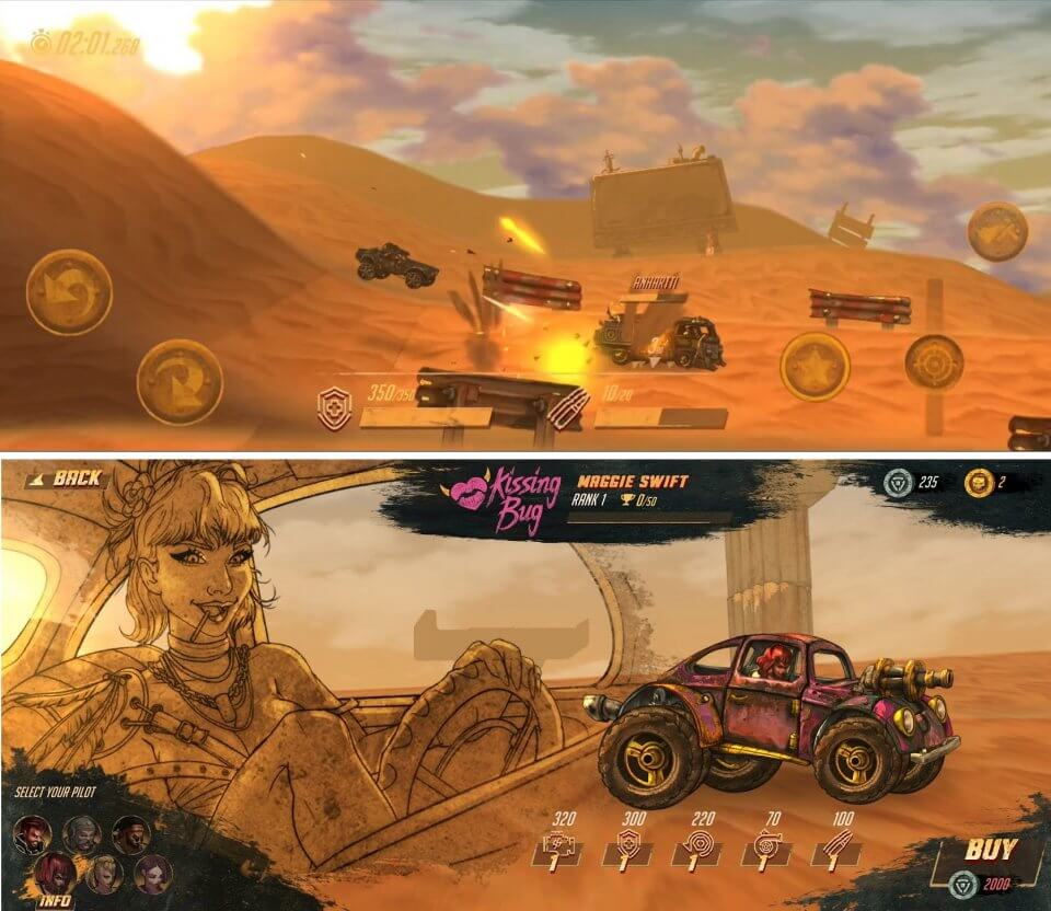 Road Warrior: Combat Racing