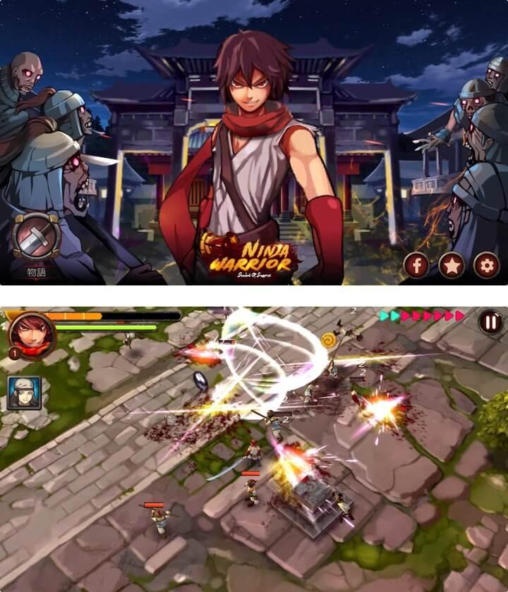 Ninja Warrior Shadow Of Samurai