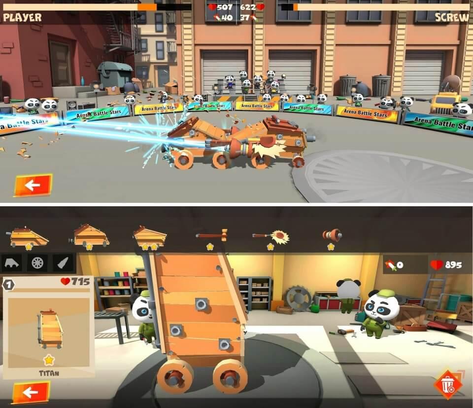 Tank Crash: Battle Bot Stars
